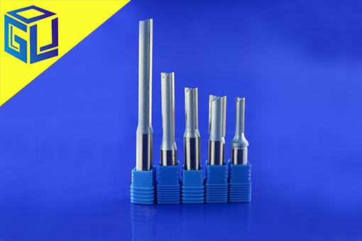 刀具直刀直边钨钢端铣刀密度板丙烯酸切割雕刻机数控铣刀