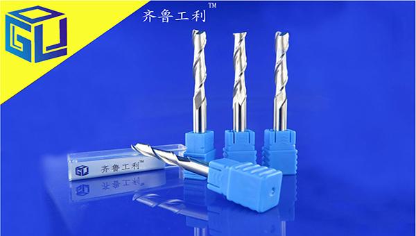双刃螺旋铣刀亚克力PVC密度板广告电脑雕刻机用刀具